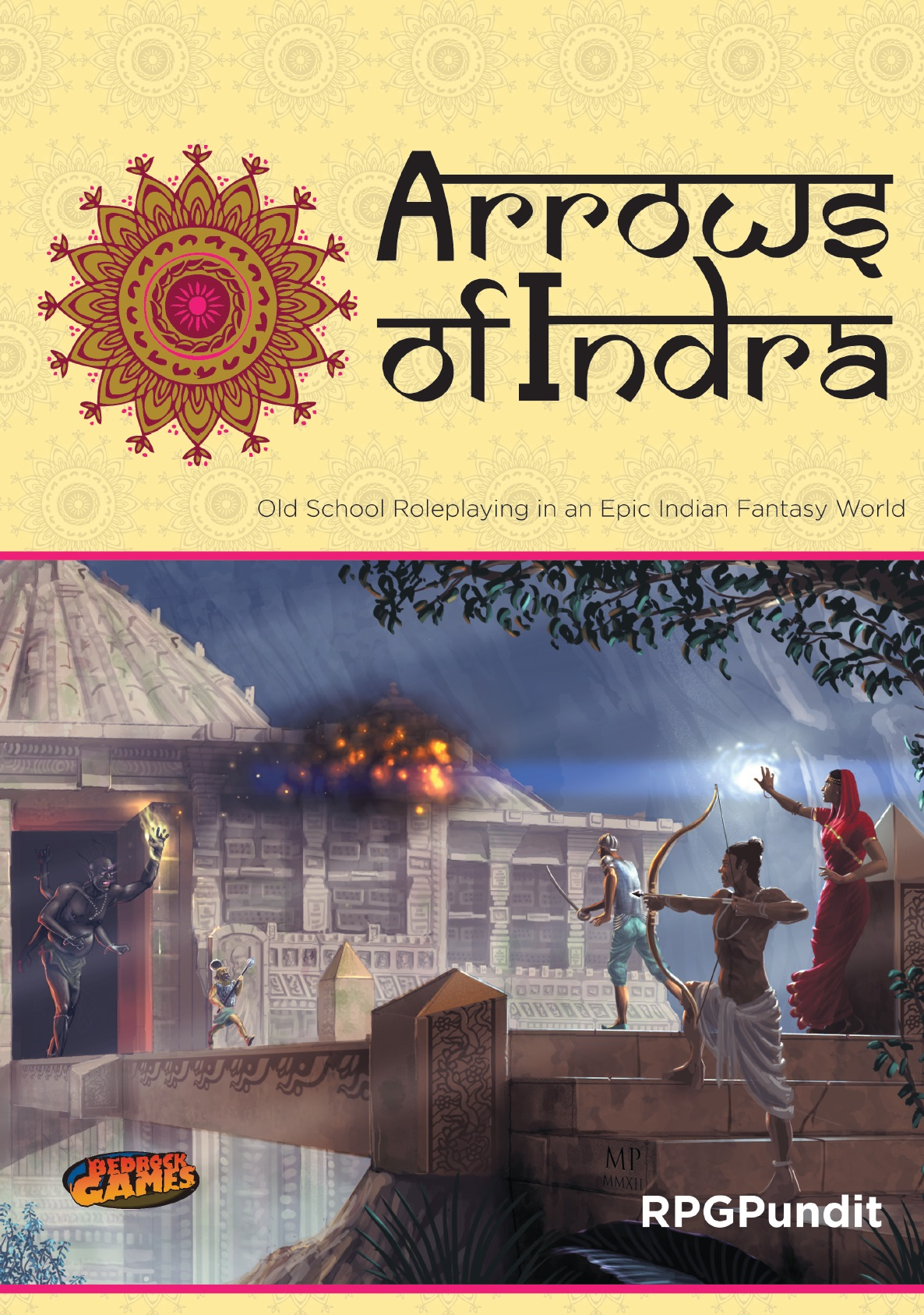 Bedrock Games: Arrows of Indra